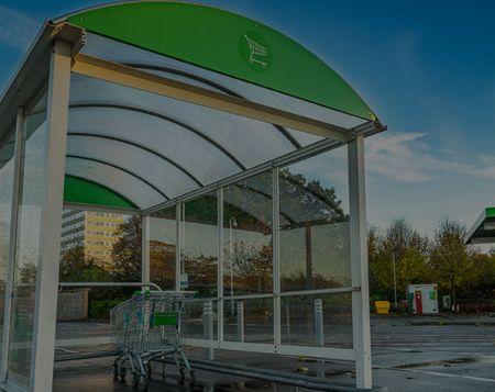 HD POWERCLEAN - Discounter Parkplatz Gewerbe - Bodenreinigung