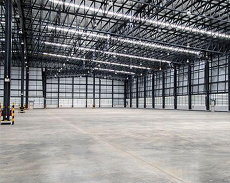 HD POWERCLEAN - Industrie - Lagerhalle - Bodenreinigung